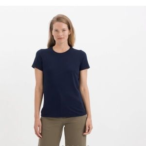 Everlane Navy Blue Crew Neck T-shirt